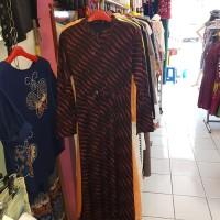 Gamis Ashanty motif bahan jaguar import