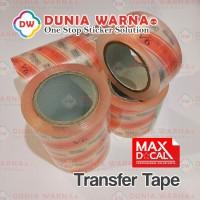 MASKING MAX DCAL TRANSFER TAPE PLASTIK LAKBAN CUTTING STICKER 45 CM