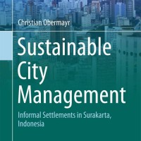 Sustainable City Management, Informal Settlements in Surakarta, Indone