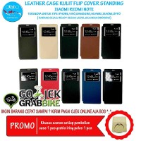 Super Murah Leather Case Xiaomi Redmi Note 2 Case Kulit Hp Terbaru