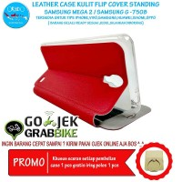Super Murah Leather Case Samsung Mega 2 G7508 Case Kulit Hp Terbaru