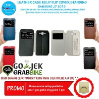Super Murah Leather Case Samsung J7 Case Kulit Hp Terbaru