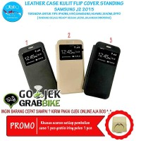 Super Murah Leather Case Samsung J2 Case Kulit Hp Terbaru