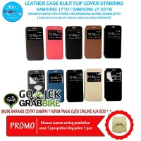 Super Murah Leather Case Samsung J7 2016 Case Kulit Hp Terbaru