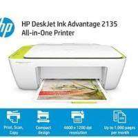 TERBARU HP DESKJET INK ADVANTAGE 2135 ALL-IN-ONE PRINTER A2