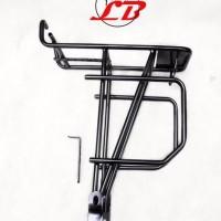 rak bagasi painer depan sepeda lipat folding bike touring