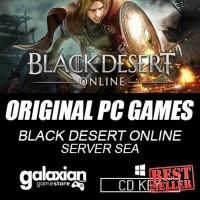 Hot! CD PC dan Laptop Gaming | Black Desert Online SEA | Original PC