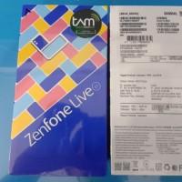 HP ASUS ZENFONE LIVE L1 AZ550KL RAM 3GB ROM 32GB GARANSI RESMI