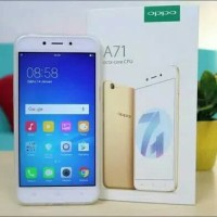 HP OPPO A71 RAM 2GB ROM 16GB BLACK & GOLD