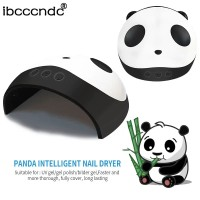 Lampu led UV pengering kutek gel panda 36w smart sensor-nail art dryer thumbnail