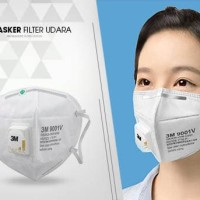 Masker Anti Polusi Filter Udara 3M Masker Mulut Motor Mask 3M 9001V *