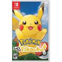 Switch Pokemon Let's Go : Pikachu (Asia/English)