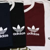 Kaos Adidas Retro Casual ringer tee