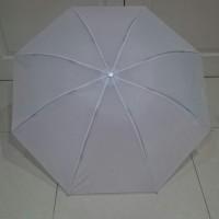 Payung Lipat Putih/Umroh/Naik Haji/Souvenir/Promosi