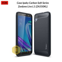 Jual Asus Zenfone Live L1 ZA550KL Case Ipaky Carbon Fiber Soft Series Murah