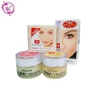 PAKET SET DR PURE Whitening Cream BPOM Ori ( Day + Night + Free SOAP )