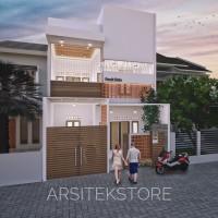Harga jasa desain rumah tinggal kost cafe masjid termurah se | Hargalu.com