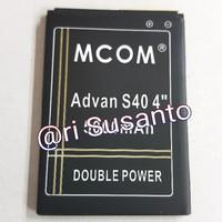 Harga unik baterai mcom for advan s40 4g lte 4 inch 2018 double po | CekHarga