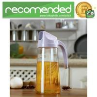 Botol Minyak Serbaguna Seasoning Glass Jar 630ml - Gray