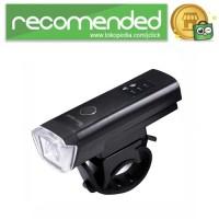 Lampu Sepeda LED USB Rechargeable XPG 350 Lumens - Hitam