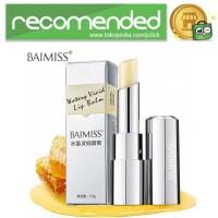 BAIMISS Nourishing Lip Balm Pelembab Bibir Anti Aging 3.5g - No Color