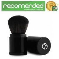 O.TWO.O Foundation Profesional Make Up Brush Retractable - Hitam