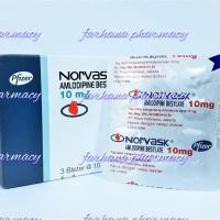norvas 10 mg / amlodipine 10 mg paten / obat darah tinggi paten