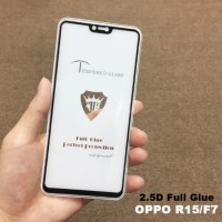 Tempered Glass Full Cover Black Screen Guard Ultra Thin for HP Oppo F7