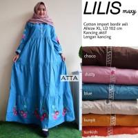 Grosir/Eceran Murah Baju Wanita Terusan Maxi Dress Lilis by ATTA