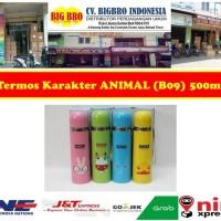 Termos Animal Karakter 500ml Stainless B09/Thermos Botol binatang B09