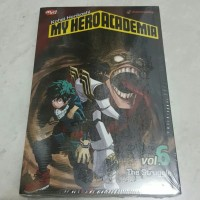 Komik My Hero Academia 6 - segel