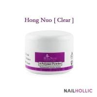 nail acrylic powder CLEAR (hong nuo) / nail art