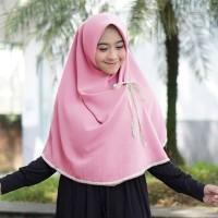 Kanza Renda Khimar Hijab instan Jilbab Instan Kerudung Khimar Hijab