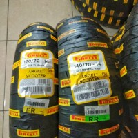 Paket Ban Pirelli Angel Scooter For Aerox/PCX 120/70 & 140/70 ring 14