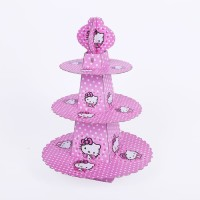 KARAKTER Stand cup cake 3 tier cup cake stand Rack cup cake