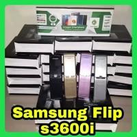 SAMSUNG S3600 FLIP PHONE - HP LIPAT MURAH - ARYASTORE