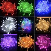 RED Lampu natal led dekorasi lampu tumblr dgn colokan sambungan