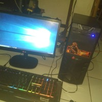 Harga pc gaming amd a8 7600 setara i5 ram 8gb led lg 20   Pembandingharga.com