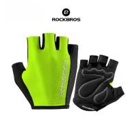 ROCKBROS S099 Bike Glove half Finger - Sarung Tangan Sepeda GREEN