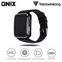 Onix Smartwatch X6 - 2.5D Curved Screen Bluetooth 3.0 SIM Card Suppor
