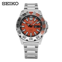 SEIKO 5 SPORT SRP483K1 AUTOMATIC ORANGE DIAL ORIGINAL
