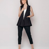 THIS IS APRIL Evy Outer Black - 610788