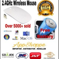 Terbaru Apple Magic Mouse Wireless 2.4Ghz Macbook Laptop With Battery