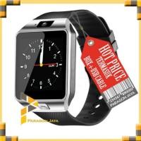 Terbaru Smart Watch U9 / Smartwatch Dz09 Full Black Simcard Micro