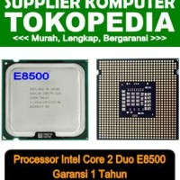 Terbaru Intel Core 2 Duo Processor E8500 (6M Cache, 3.16 Ghz, 1333 Mhz