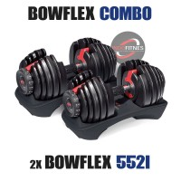 Paket COMBO 2x Bowflex 552i (Satu pasang) | Dumbell Barbel