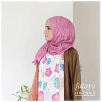 Jual Abaya Bunga Batik Crepe Mix Maxmara Murah