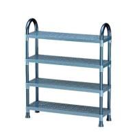 Best Seller Rak Tempat Sepatu Plastik Shelf Stand Susun 4 Lion Star