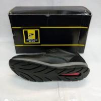 Sepatu Kulit Pakalolo Boots N7803 Hitam Sepatu Pantofel Pria Original