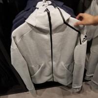 Adidas jaket sport olahraga zipper ZNE hoodie sweater running training